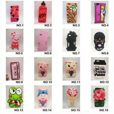 3D Cute Cartoon Peppa Pig Animal Soft Silicone Case Cover For iPhone 6 6s  7Plus