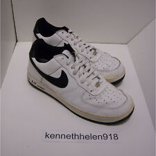 2001 NIKE AIR FORCE 1 B BASKETBALL SHOES WHITE BLACK 624040-101 MENS SIZE 10