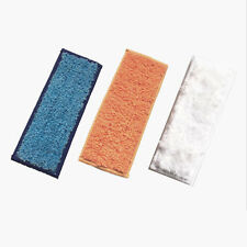 3pcs Microfiber Wet/Dry Replacement Mopping Pads for iRobot Braava jet240/241