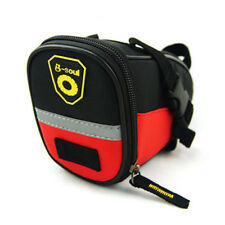 Durable MTB Bike Bicycle Cycling Saddle Bag Seat Pouch Tail Rear Pack Pannier