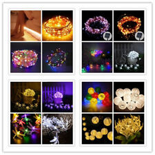 MulticolorLED Christmas Party Xmas Decor Outdoor Indoor  Fairy String Light Lamp