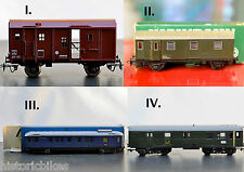 Train Electric Collection JOUEF Kleinbahn VEB Post Luggages Choose1