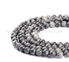Natural Larvikite Labradorite Gemstone Round Beads 15.5'' 4mm 6mm 8mm 10mm 12mm
