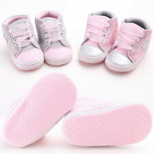 Infant Baby Boy Girl Soft Sole Pram Crib Shoes Sneaker Newborn Casual Shoes