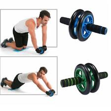 Ab Roller Exercise Wheel Abdominal Fitness Gym Core Workout Dual Venus Pad Gift