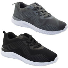 New Mens Laced Running Trainers Gym Gents Printed Sports Mesh Light weight Shoes