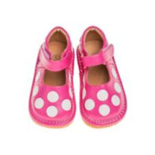 Comfortable Casual Girls Pink/White Polka Dot Toddler  Shoes with Leather Lining