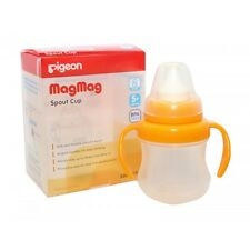 Pigeon MagMag Straw Cup Top, Baby Drinking Skill for 8+ Months BPA Free