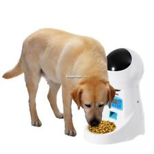 Automatic Pet Feeder Voice Recorder Timer Programmable Automatic Food ESY1