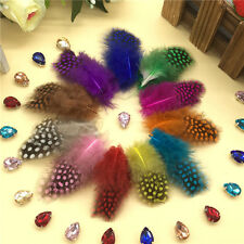 Wholesale 20/100Pcs Beautiful Pearl Feathers 1.18-2.76  inch / 3-7 cm 11Colors