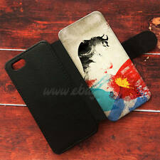 Superman Painting Wallet iPhone cases Superman Samsung Wallet Leather Cases