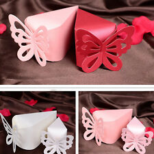 50Pcs  Favors Candy Chocolate Box Gift Bags Butterfly Party Wedding Baby Shower