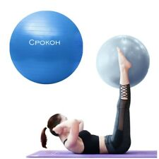 Anti-Burst Yoga Exercise Stability Ball Gym Pilates Balance Fitness w/ Air Pump