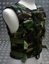 Genuine British Forces Woodland DPM Camo Body Armour Vest- NEW