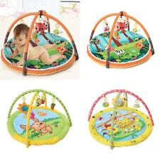 Infant Baby Activity Play Mat Gym Educational Fitness Frame Game Mats