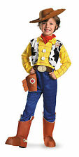 Disney Deluxe Woody The Cowboy Toy Story Boys Costume