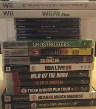 Wii, PS3, PS2, PlayStation, PSP, Games! Choose From Selection!