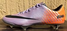 Mens Nike Mercurial Vapor IX FG ACC Soccer Cleats Size 7 Violet/Black/Orange