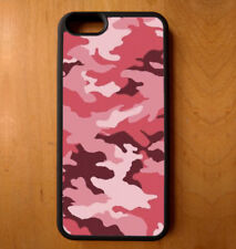 Phone Case Army Camouflage Camo Print iPhone 4 5 6 7 Plus Galaxy S6 S7 S8 Note E