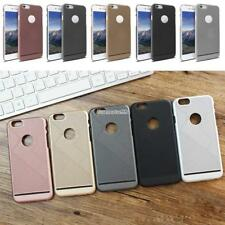 PVC Phone Case Cover Solid Hard Cellphone Protective Housing for Apple FT