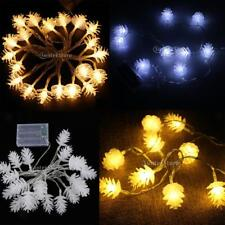Battery Pine Cone Starry Fairy String Light Christmas Wedding Decoration Light