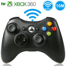 Wireless Controller Game Pad Joystick for Microsoft Xbox 360 Black New Official