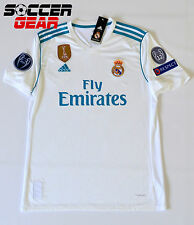 Real Madrid Home Jersey White 17/18 Champions League