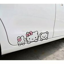 Hello Kitty Cat Car Sticker Decorate Accessories Car Stickers FREE SHIPPING