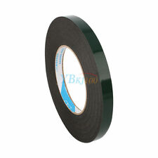 Waterproof Double-Sided Foam Tape Black Super Strong 10m Self Adhesive