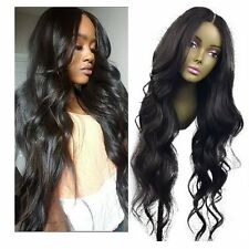 Brazilian 100% Remy Human Hair Full/Front Lace Wigs Body wave Glueless Wig