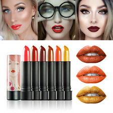 Cosmetics Soft Shimmer Lip Cream Stick Lipstick Long Lasting Metallic Colors