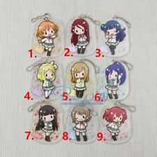 T460 Hot Anime Lovelive Love Live Acrylic Keychain Key Ring Rare straps cosplay