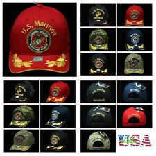 U.S. Marine Corps Cap Veteran Navy Retired License Caps Cotton Baseball Hat