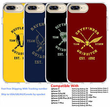 Harry Potter Quidditch Team Captain House Silicone Phone Cover Case
