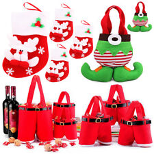 New Santa Claus Pants Gift And Treat Christmas Candy Bags Xmas Party Decoration