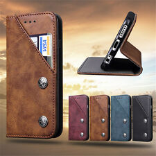 PU Leather Magnetic Wallet Flip Card Holder Case Stand Cover For Apple iPhone 8