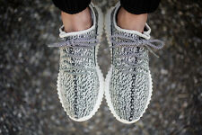 Women's YEEZY 350 Sneakers Running Trainers Gym Sports Canvas Shoes GREY