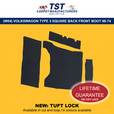 MOULDED CAR CARPETS (W04) VOLKSWAGON TYPE 3 SQUARE BACK FRONT BOOT 1968-1974