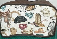 Quilted Toaster Cover Western Medly  Made to Order SEND YOUR MEASUREMENTS!!