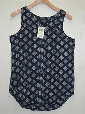 Lucky Brand,Women's Paisley Woven Knit Tops,New with Tags (7WD 40005)