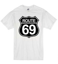 Route 69 Funny Rude Offensive Highway Sex Humour Kids T Shirt Tshirt Boys Girls