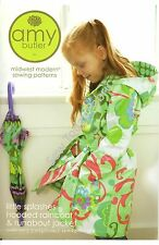 Little Splashes Hooded Raincoat & Runabout Jacket  Pattern - Amy Butler(AB044LS)