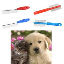 Heavy Duty Metal Pet Massage Brush Grooming Comb Hair Brush for Dog Cat Rabbit