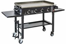 Blackstone 36 inch Outdoor Flat Top Gas Grill Griddle Station - 4-burner - - -