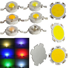10x 50x Warm Cool White Red Blue Green SMD COB LED Chip 1W 3W 5W 7W Light Lamp