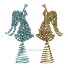 Christmas Xmas Tree Ornament Christmas Hollow Out Angel Spring Swing Table Decor
