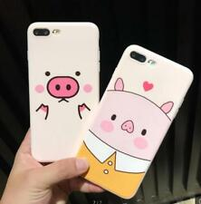 Pink Cartoon Funny Cute Pig Soft TPU Phone Case Cover for iPhone 6 6S 7 Plus Hot
