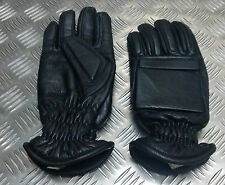 Genuine British Military / Police Black Leather Tactical Gloves Assorted Sizes