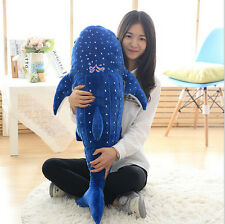 New Huge Whale Shark Toys Plush Stuffed Animals Ocean Spotted Fish Amazing Gifts