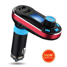 Wireless Bluetooth Car Kit FM Transmitter MP3 Player With Dual USB Charging New